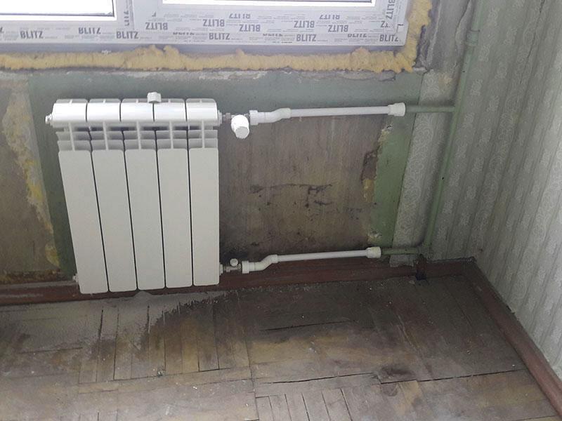 Монтаж теплого пола на теплоизоляцию